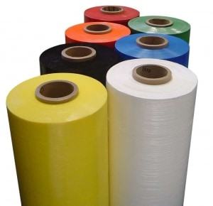 colored stretch wrap